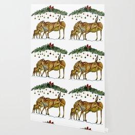 Saiga Antelope Wallpaper
