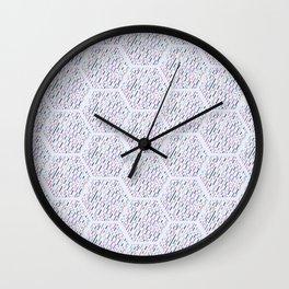 Most Logo comb Wall Clock