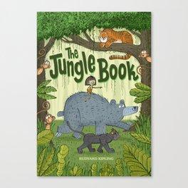 'The Jungle Book' Canvas Print