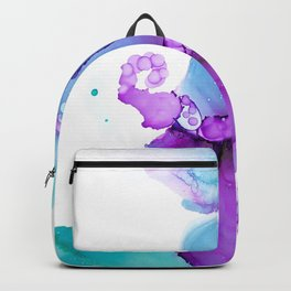 Ball gown (alcohol ink abstract) Backpack
