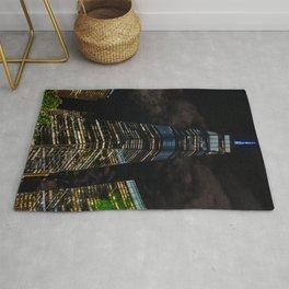 World Trade Center, Liberty Tower at night, New York (2020-5-GNY160) Rug