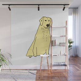 Proud Dog Wall Mural