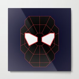 The Ultimate Sp1derman - Miles Morales Metal Print