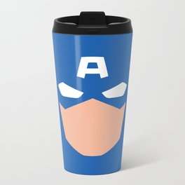 Superhero America Captain Metal Travel Mug