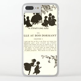 Arthur Rackham - Sleeping Beauty (1920) - Chapter One: Once Upon a Time Clear iPhone Case