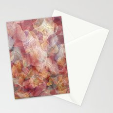 Lines and shapes artwork Stationery Cards
