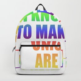 Unicorns Are Real I Know How To Make Them Backpack