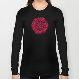 Red Bucket of Flakes Long Sleeve T-shirt