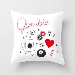 Gable - Nevada Day Throw Pillow