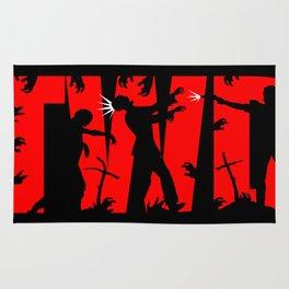 Walking Dead design Rug