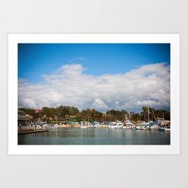 Laguna Pier Art Print