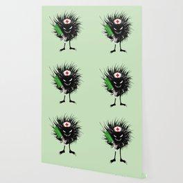 Evil Bug Nurse With Syringe Wallpaper