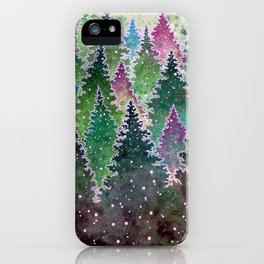 Northern Forest iPhone Case