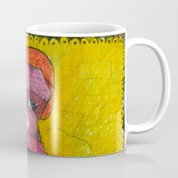 motorcycle Mugs featuring Motorcycle  by Vera A. Fehér