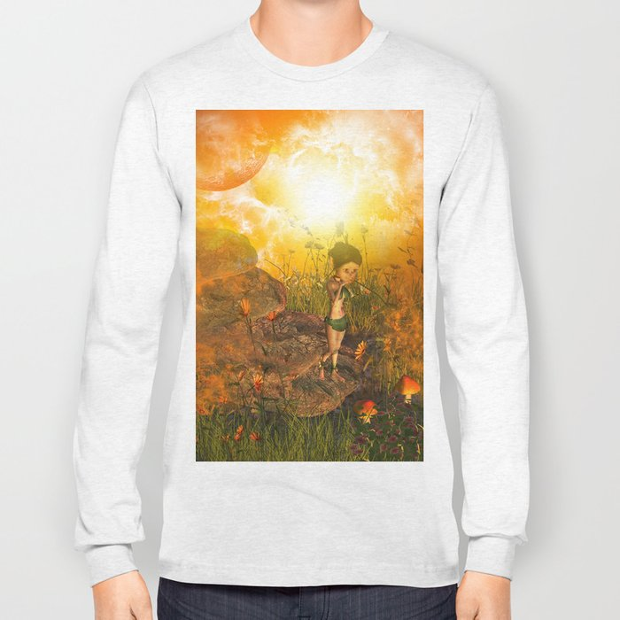 The land in the universe Long Sleeve T-shirt