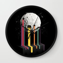 RainbowMoon Wall Clock