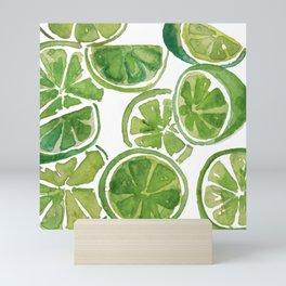 Juicy Limes Mini Art Print