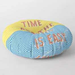 Summertime - A Hell Songbook Edition Floor Pillow