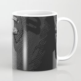 Big American Football - black &white Coffee Mug