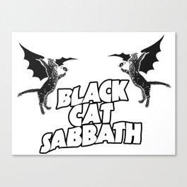 CAT SABBATH Canvas Print