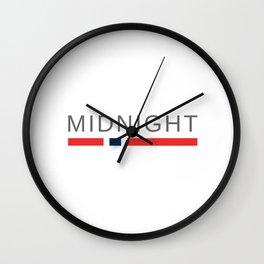 Norway Midnight Sun Wall Clock