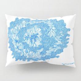 March's Blue 8   Artline Drawing Pens Sketch Pillow Sham