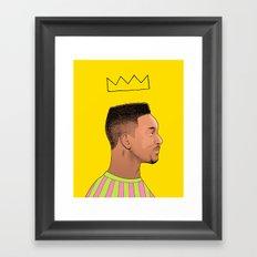 Fresh Prince Framed Art Print