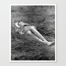 I Dreamt You Found Me in a Field Canvas Print