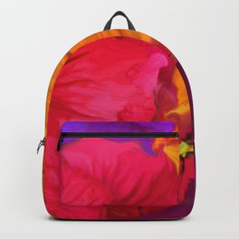 Surfinie and anemones Backpack