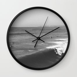San Clemente | Surf Wall Clock