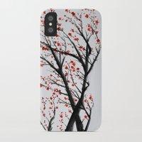 sakura iPhone & iPod Cases featuring Sakura by rchaem