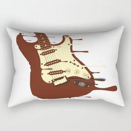 Earth Football Rectangular Pillow