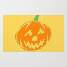 Halloween Jack-O-Lantern - Pumpkin Rug