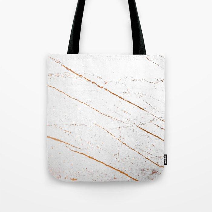 Rose Gold Marble #society6 #decor #buyart Tote Bag