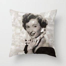 Barbara Stanwyck, Hollywood Legend Throw Pillow