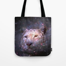 Tiger and Galaxy Tote Bag