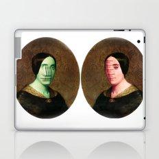 The Vitruvian Sisters (collage) Laptop & iPad Skin