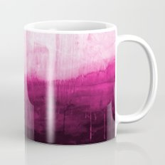 Paint 7 pink abstract painting ocean sea minimal modern bright colorful dorm college urban flat Mug