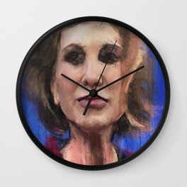 The Road To Malebolge Wall Clock