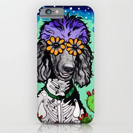 Jude the Parti Poodle iPhone Case