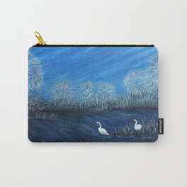 On Frozen Pond Carry-All Pouch