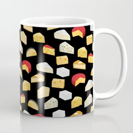 Cheese pattern food fight apparel and gifts Coffee Mug