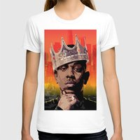 kendrick lamar T-shirts featuring King Kendrick by Tecnificent
