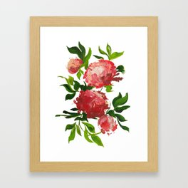 Multipivoines Framed Art Print