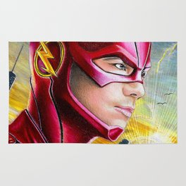 Barry Allan-THE FLASH Rug