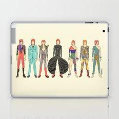 7 Red Head Bowies Laptop & iPad Skin