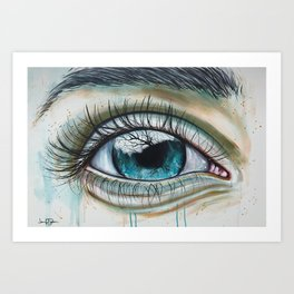 Your Love Awakens Me Art Print