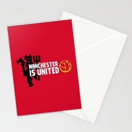 Manchester Is United Stationery Cards