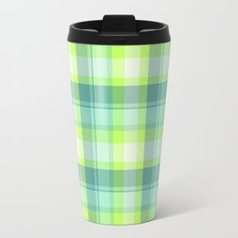 Spring Plaid 3 Travel Mug