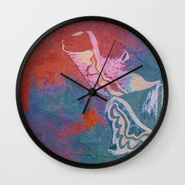 Moths 2 Wall Clock
